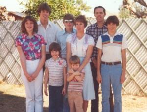 Fuller Family in 1979